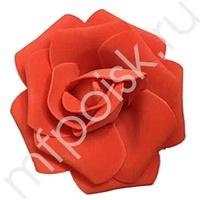 Y Декор свадебный Роза красная 12см 1шт