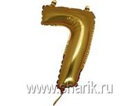 "1206-0636 Г ЦИФРА 7 14"" Gold"