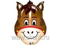 1206-0604 П МИНИ ФИГУРА Лошадь голова