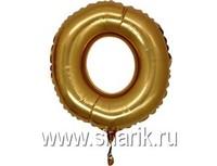 "1206-0629 Г ЦИФРА 0 14"" Gold"