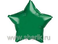 "1204-0158 Ф Б/РИС 9"" ЗВЕЗДА Металлик Green(FM)"