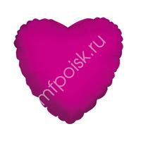 "K Сердце HOT PINK 18""/45см"
