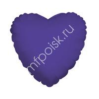 "K Сердце VIOLET 18""/45см"
