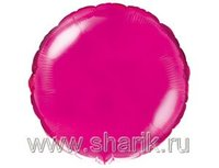 "1204-0166 Ф Б/РИС 9"" КРУГ Металлик Purple(FM)"