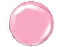 """1204-0556 Ф Б/РИС 18"""" КРУГ Пастель Pink"""