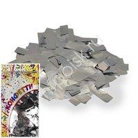 AC Конфетти 300гр 2*5см фольгированное Прямоугольники серебро