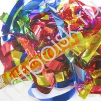 AC 60см Пневмохлопушка в пластиковой тубе фольгированное конфетти