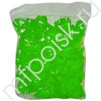 Eq Зажим для мини Зеленые 100шт/уп