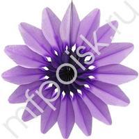 Q Бум укр Цветок Фиолетовый 36см