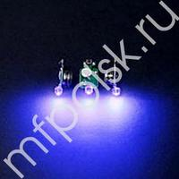 TP Светодиод 3D синий в защитном корпусе 20шт