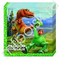 Pc 33см X 33см Салфетки Хороший Динозавр 20шт