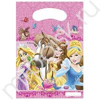 Pc Пакет Принцессы и животные 22*16см 6шт