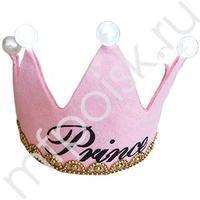 WB Корона светящаяся Принцесса розовая