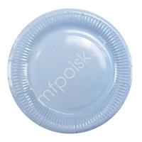 Y 18см Тарелки бумажные ламинированные Light Blue 6шт
