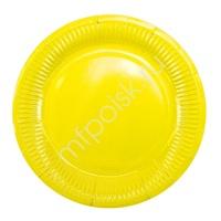Y 18см Тарелки бумажные ламинированные Yellow 6шт
