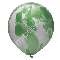 """M 12""""/30см Многоцветный Green 25шт"""