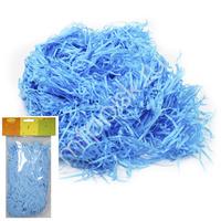 Y Декоративный бумажный наполнитель голубой 30г