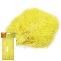 Y Декоративный бумажный наполнитель желтый 30г