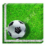 Pc Салфетки бумажные Футбол 33 х 33см 20шт