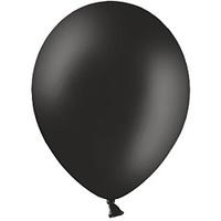 Шар (12''/30 см) Черный, пастель, 100 шт.