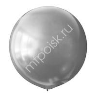 "M 30""/76см Металлик SILVER 026 1шт"