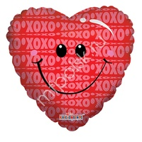 "K Сердце 627 Любовь Улыбка одностор. 18""/45см"
