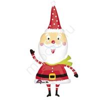 A Фигура 623 Новый год Счастливый Санта 64см Х 109см