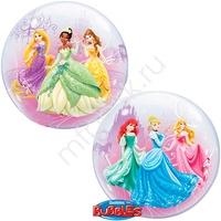 """P Bubble 22"""" Дисней Принцессы в танце"""
