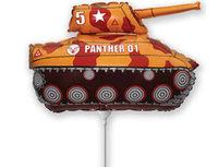 1206-0766 Ф М/ФИГУРА/3 Танк коричневый/FM
