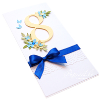 C праздником Весны - синий