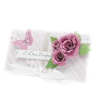 Конверт розы-бабочки