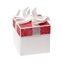 Открытка-коробочка в розовом