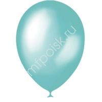"""M 12""""/30см Металлик AQUA BLUE 639 100шт"""