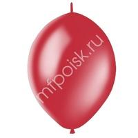 "M 12""/30см Шар LINKING Декоратор CHERRY RED 50шт"