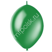 "M 12""/30см Шар LINKING Декоратор EMERALD GREEN 50шт"