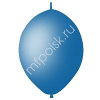"M 12""/30см Шар LINKING Декоратор ROYAL BLUE 50шт"