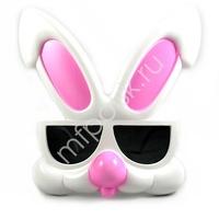 SH Очки Кролик розовые уши P07-116