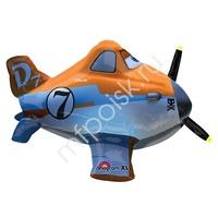 A Фигура Самолет с пультом 66см Х 38см