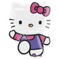 A Фигура Hello Kitty лиловое платье 56см Х 76см