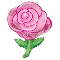 """K Фигура 603 Роза розовая 36""""/91см"""