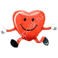 A Ходячая фигура 504 Сердце 48см Х 66см