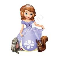 A Ходячая фигура Принцесса София 93см Х 121см