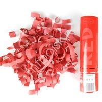 AC 20см Пневмохлопушка Красное конфетти