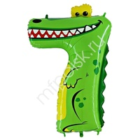 """GR Фигура Цифра 7 Крокодил 36"""""""