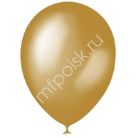 "M 14""/35см Премиум Металлик GOLD 025 50шт"