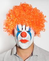 "Маска ""Клоун"" Оранжевый волос"